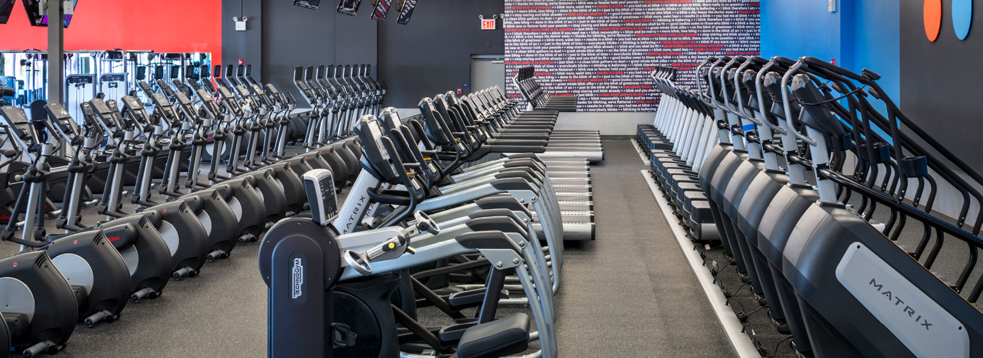 Blink Fitness interior photo