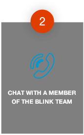 Chat With A Blink Team Member